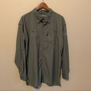 Drake Performance Fishing Button Down Shirt